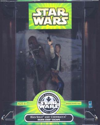 Han Solo Chewbacca Death Star Escape