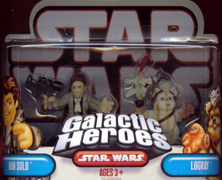 Han Solo Logray Galactic Heroes