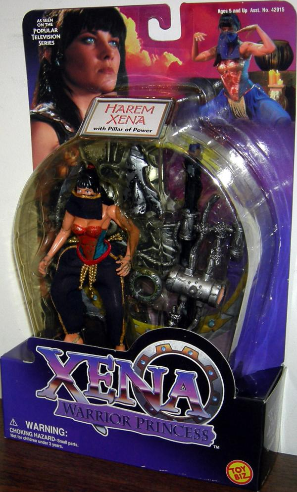 Harem Xena Figure Pillar Power Toy Biz