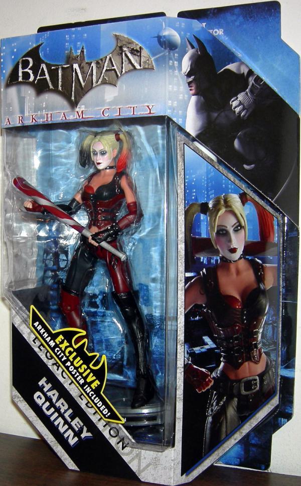 Harley Quinn DC Universe Legacy Edition Arkham City action figure