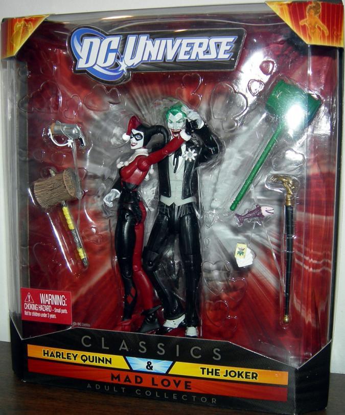 Harley Quinn Joker Mad Love, DC Universe