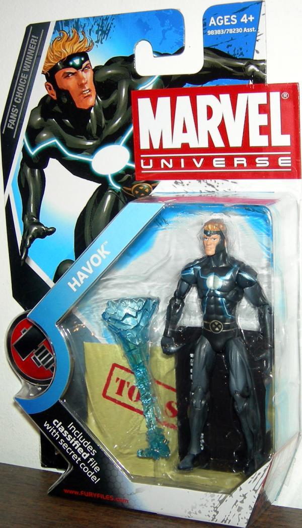 Havok Marvel Universe Series 2 018 action figure