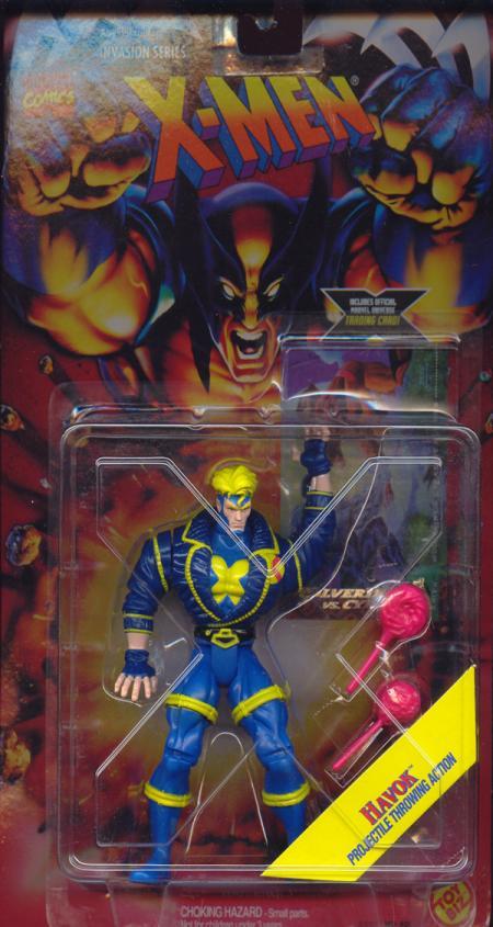 Havok Invasion Series X-Men action figure