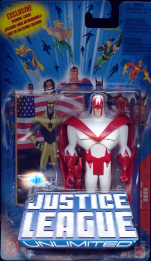 Hawk Justice League Unlimited