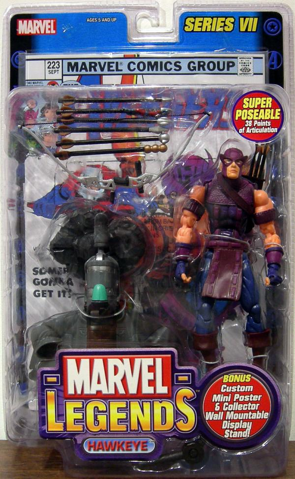 Hawkeye Figure Marvel Legends Series VII