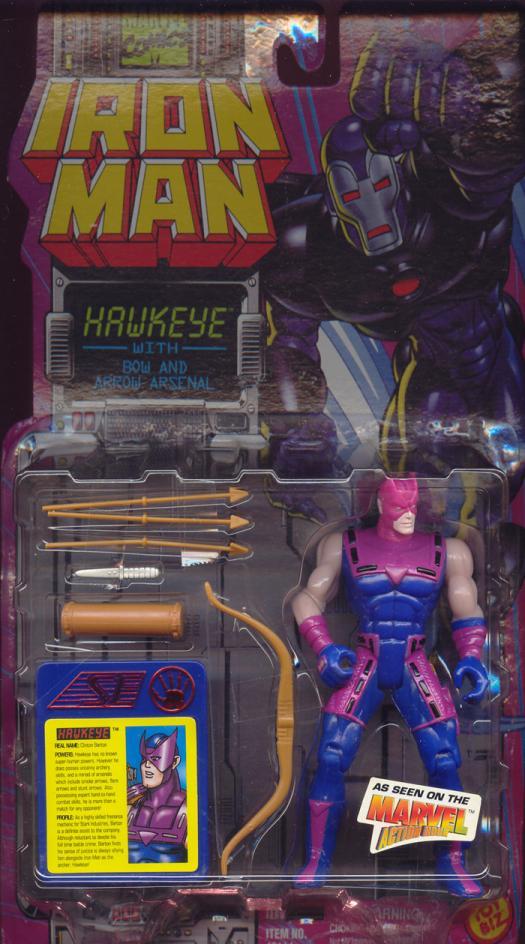 Hawkeye Iron Man