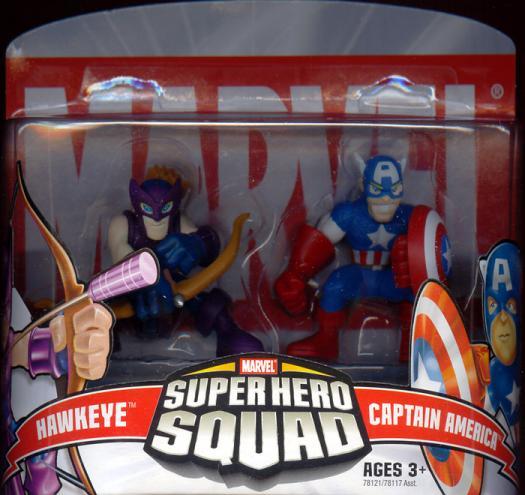 Hawkeye Captain America Super Hero Squad