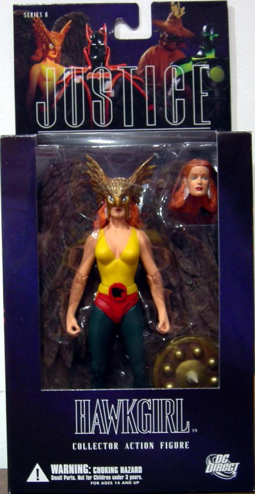 Hawkgirl Alex Ross DC Direct Series 6 action figure