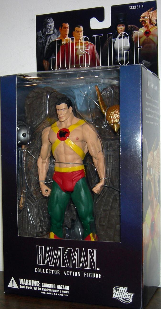 Hawkman  Figure Alex Ross Justice League Series 4