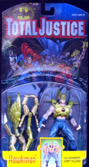 Hawkman Total Justice action figure