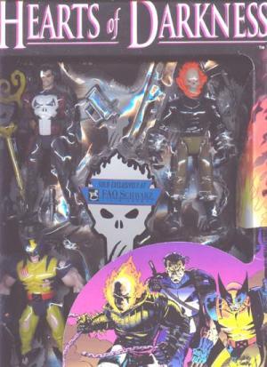 Hearts Darkness Figures FAO Schwartz Exclusive Toy Biz