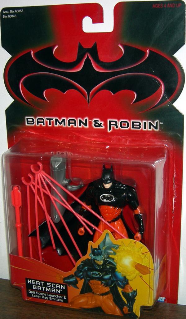 Heat Scan Batman Action Figure Robin Movie Kenner