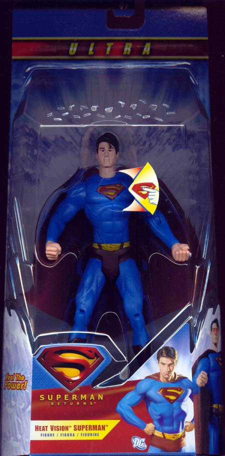 Heat Vision Superman deluxe