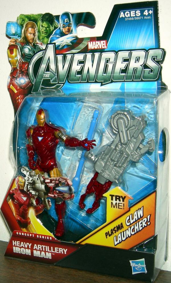 Heavy Artillery Iron Man 03 Avengers