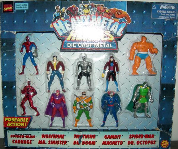 Heavy Metal Heroes 10-Pack series 2 action figures