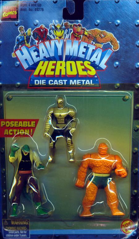 Heavy Metal Heroes Spider-Armor Spider-Man, Lizard, Thing