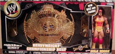 Heavyweight Championship Belt Hulk Hogan Figure Jakks