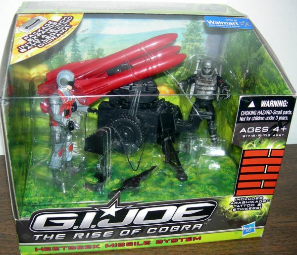 Heetseek Missile System GI Joe Rise Cobra action figures