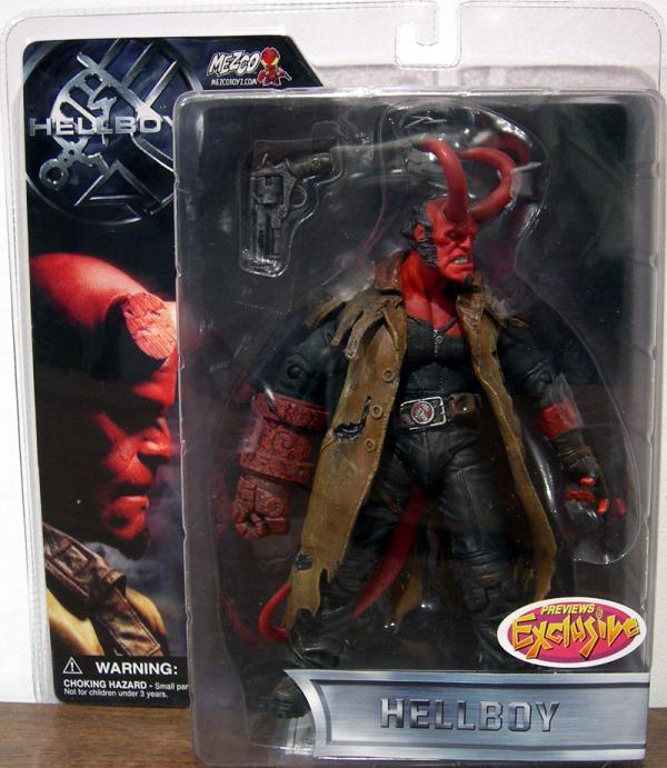 Battle-Damaged Hellboy Previews Exclusive