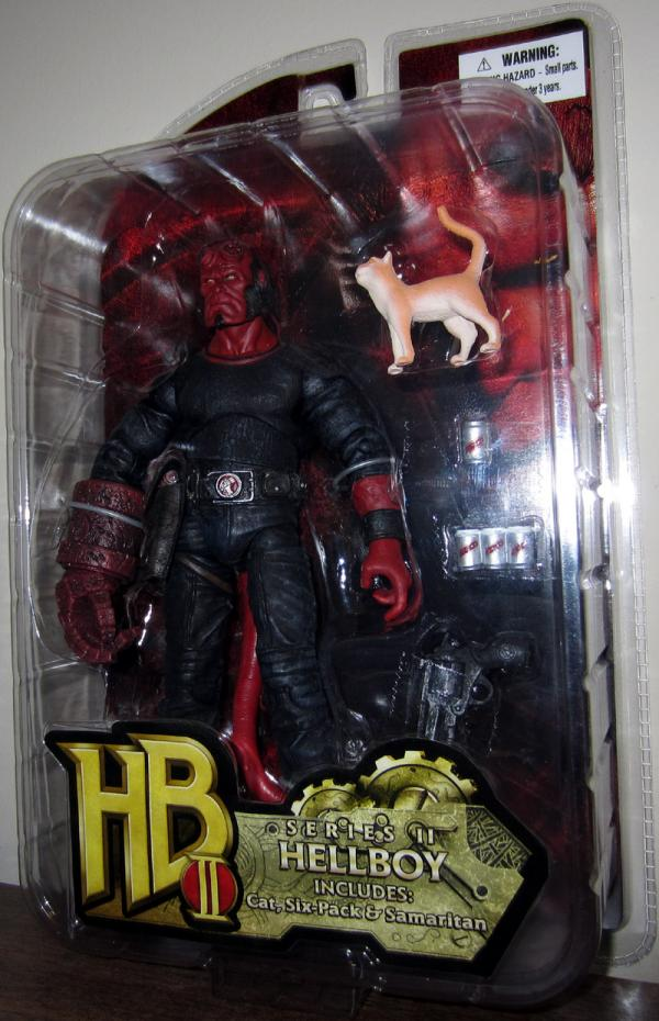 Hellboy Figure Cat HB II Series II Six Pack Samaritan