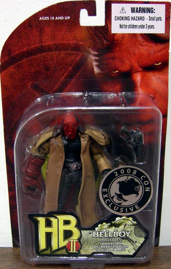 Hellboy 2008 Con Exclusive Includes Samaritan Big Baby action figure