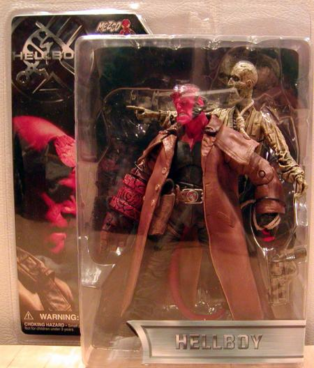 Trench Coat Hellboy Corpse Open Mouth action figures