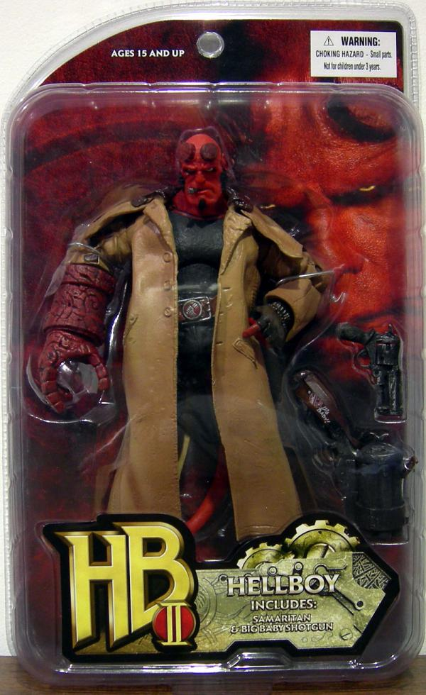 Hellboy II Figure Samaritan Big Baby Shotgun Cigar
