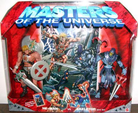 He-Man vs Skeletor Figures Exclusive Comic Book Masters Universe