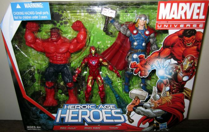 Heroic Age Heroes Marvel Universe action figures