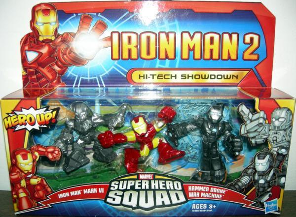 Hi-Tech Showdown Super Hero Squad