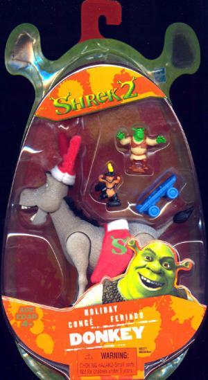 Holiday Donkey Figure Shrek 2 Movie