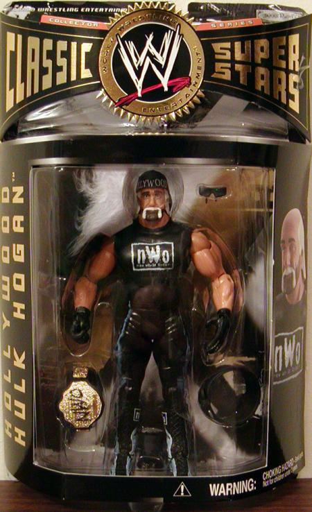 Hollywood Hulk Hogan Action Figure Series 8 WWE Classic Super Stars