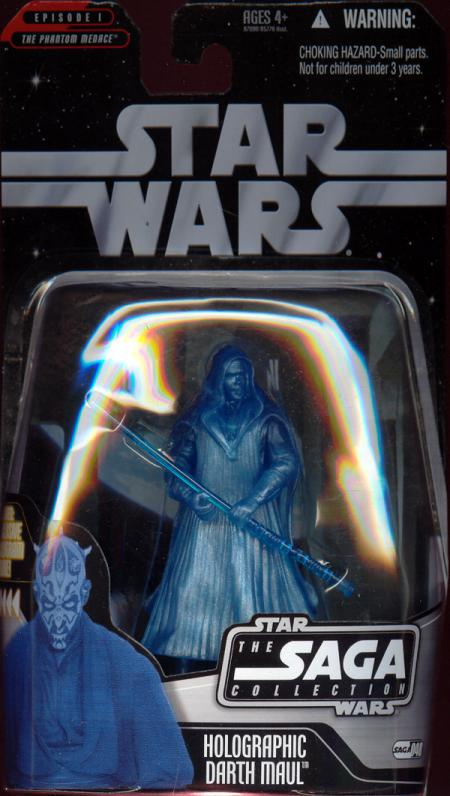 Holographic Darth Maul Saga Collection 048 Star Wars action figure