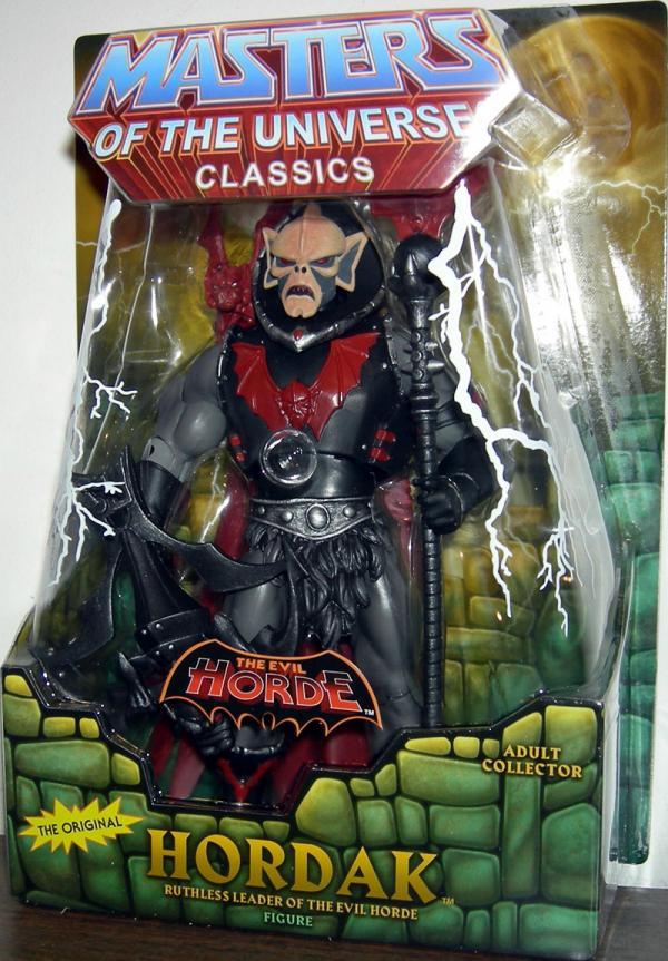 Hordak Classics Re-Release Masters Universe action figure