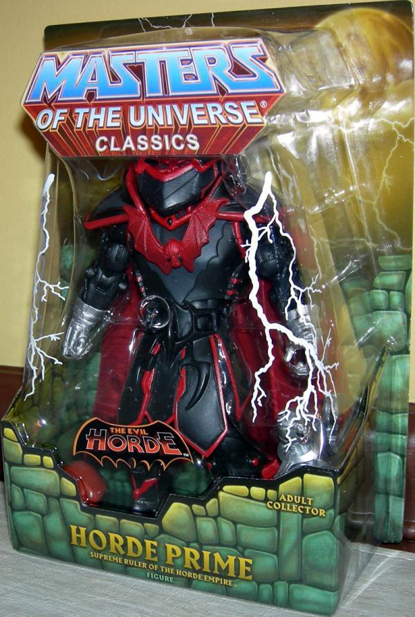 Horde Prime Classics Figure Masters Universe Mattel