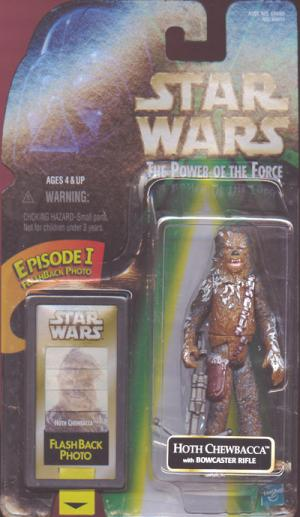 Hoth Chewbacca Figure Star Wars Power Force