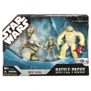 Hoth Patrol Star Wars Battle Packs action figures