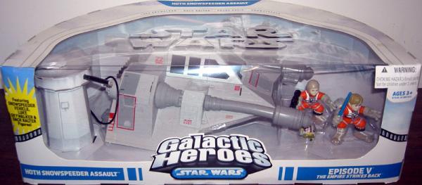 Hoth Snowspeeder Assault 4-Pack Galactic Heroes