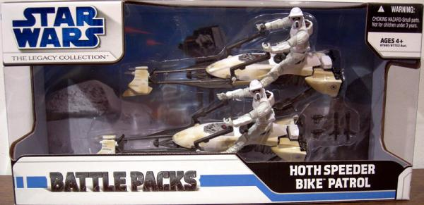 Hoth Speeder Bike Patrol Legacy Collection