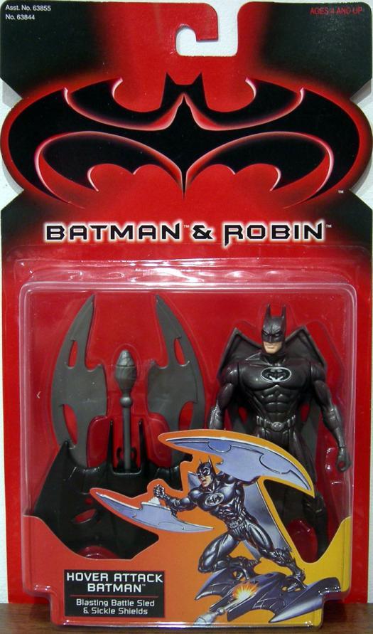 Hover Attack Batman Batman Robin