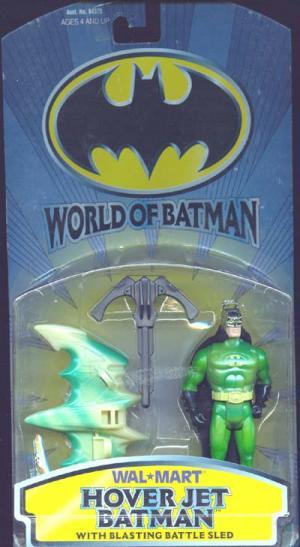 Hover Jet Batman Wal-Mart exclusive action figure
