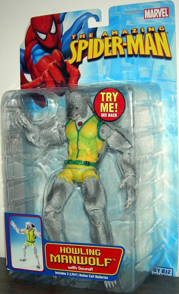 Howling Manwolf Figure Amazing Spider-Man Toy Biz