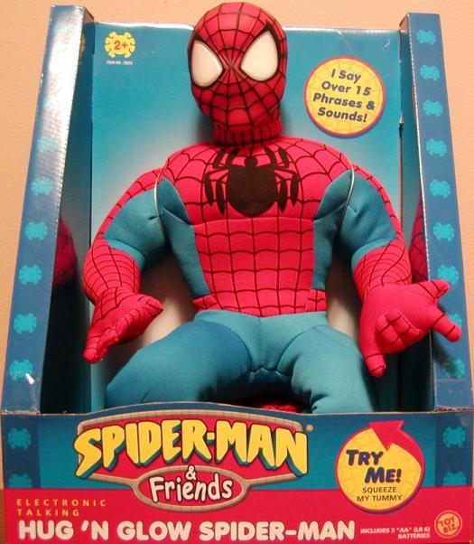 Hug N Glow Spider-Man