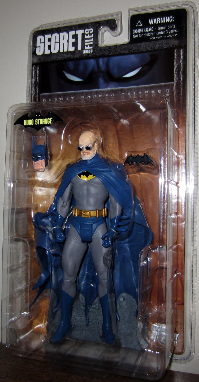 Hugo Strange Action Figure Batman Rogues Gallery 2 Secret Files Series 3