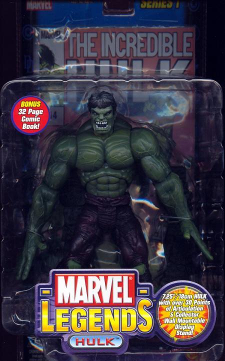Hulk Marvel Legends, bendy hands