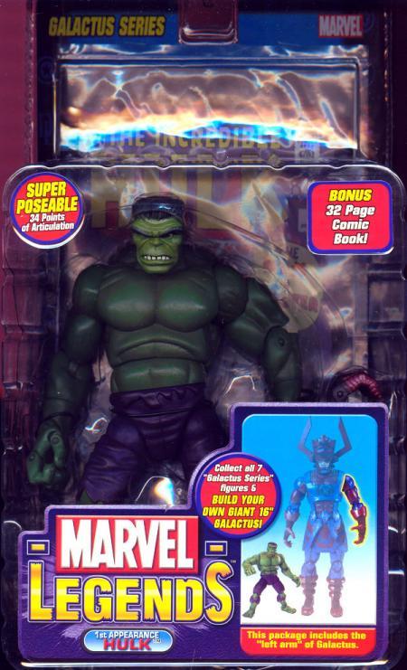 1st Appearance Hulk Figure Marvel Legends Left Arm Galactus