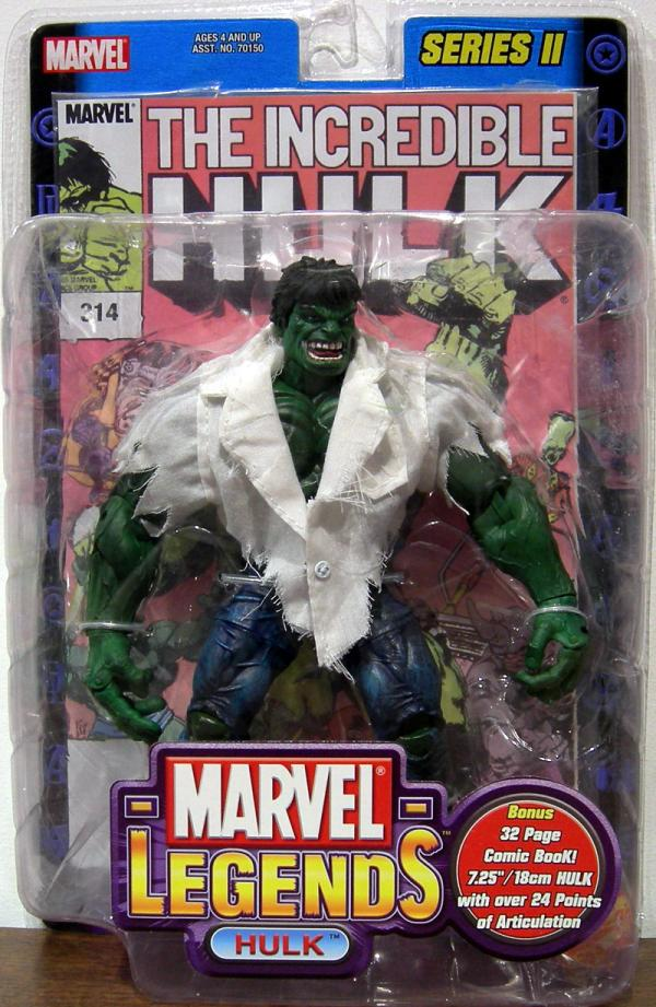Hulk Marvel Legends, ripped shirt