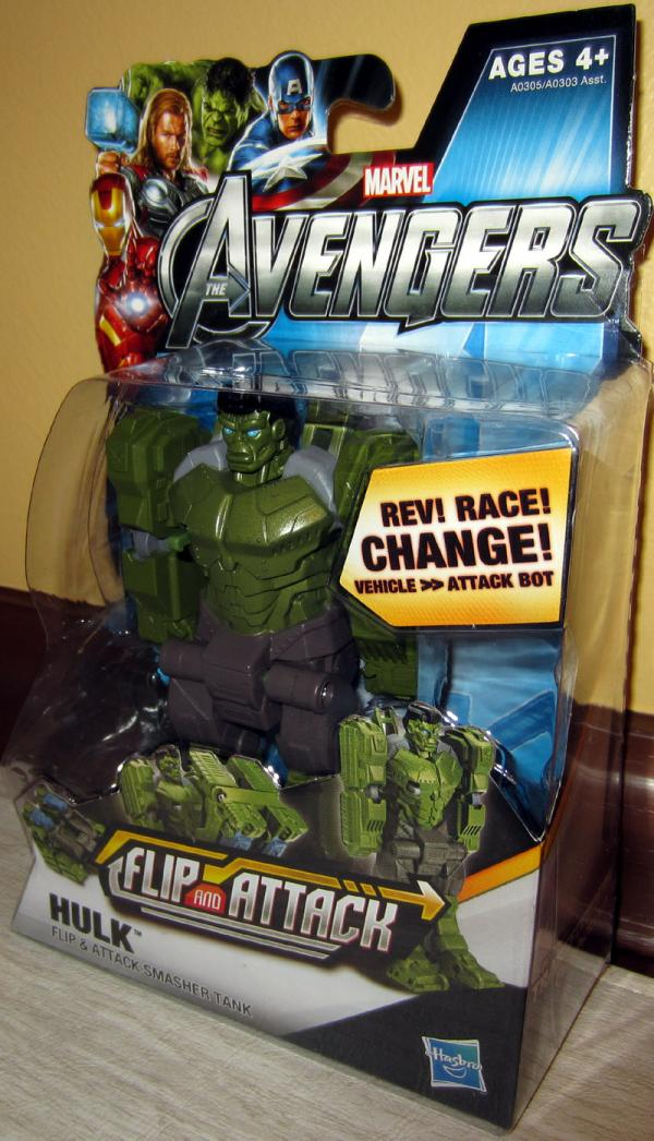 Hulk Avengers Flip and Attack Action Figure Hasbro