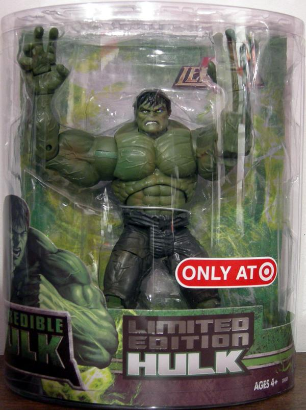 Limited Edition Hulk Figure Marvel Legends Hasbro Target