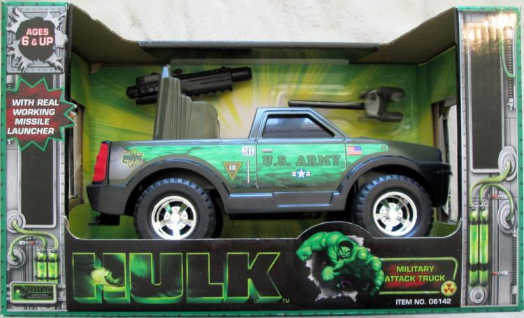 Hulk Movie Military Attack Truck Vehicle Funrise